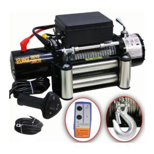 DMS® 12V Elektrische Seilwinde 5900 KG Motorwinde Offroad + Funkfernbedienung - 1.jpeg